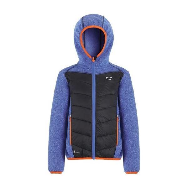 Dětská bunda Regatta KIELDER Hybrid III modrá/černá