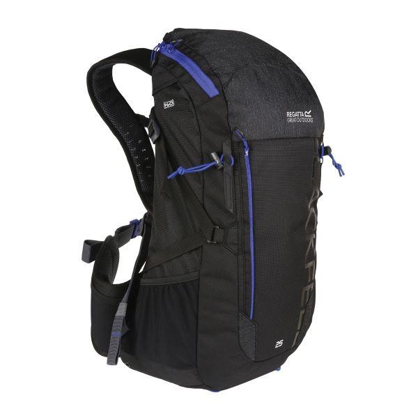 Unisex batoh Regatta BLACKFELL III modrá/černá 25l