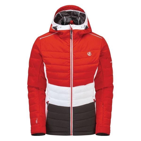Dámská zimná bunda Dare2b SUCCEED červená/černá