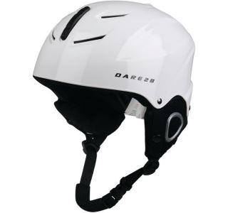 Dětská lyžařská helmy Dare2b SCUDO bílá