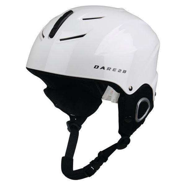 Dětská lyžařská helma Dare2b SCUDO bílá