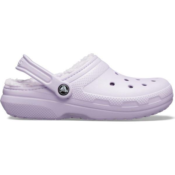 Dámské boty Crocs CLASSIC Lined Clog fialová
