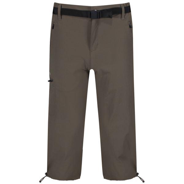 Pánské 3/4 kalhoty Regatta Xert Capri II hnědá