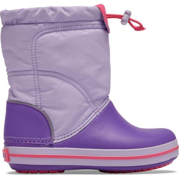 Dětské boty Crocs CROCBAND LodgePoint Boot K fialová