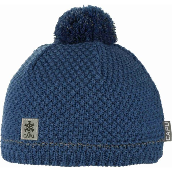 Dětská zimní čepice CAPU 690 tmavě modrá