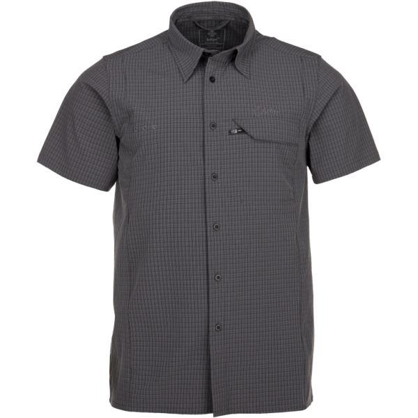 Pánská košile KILPI BOMBAY-M tmavě šedá