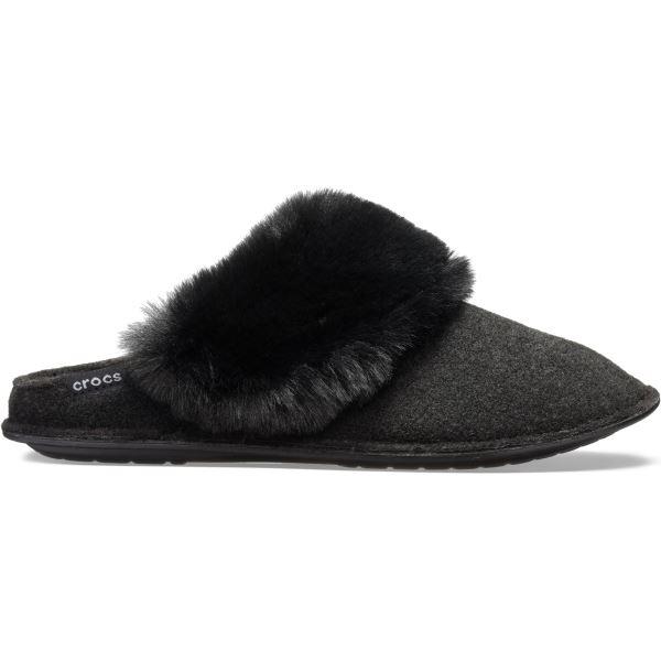 Unisex pantofle Crocs CLASSIC LUXE Slipper černá