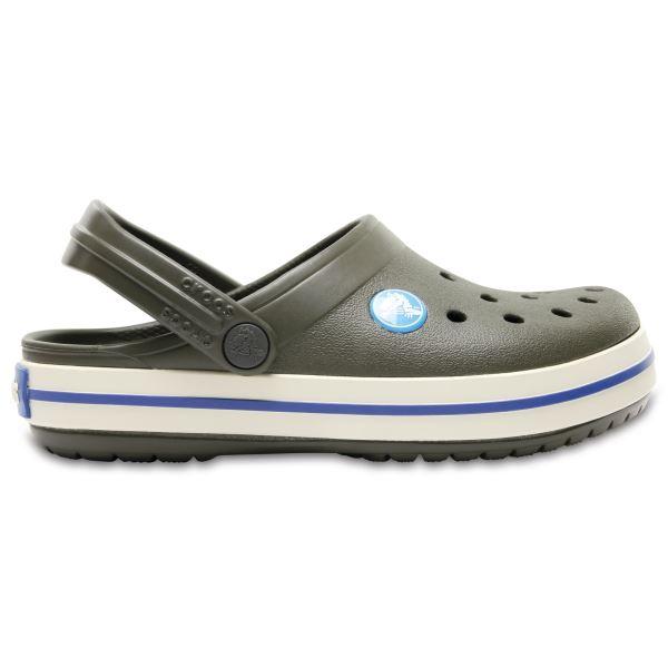 Dětské boty Crocs CROCBAND CLOG K tmavě zelená