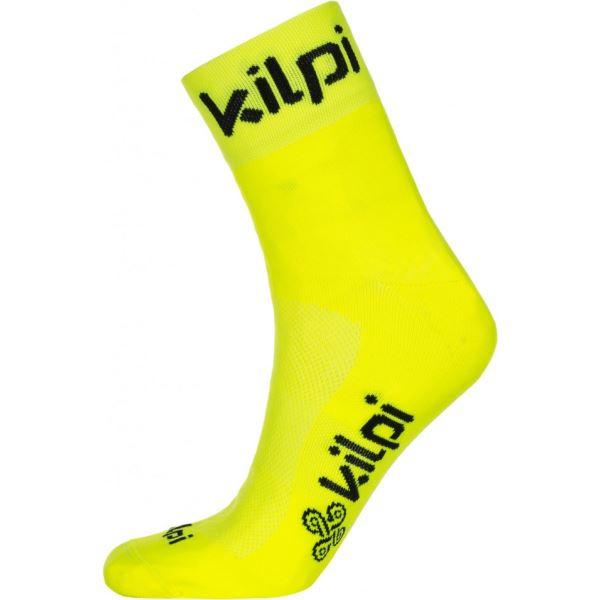 Unisex ponožky KILPI REFTON-U žlutá