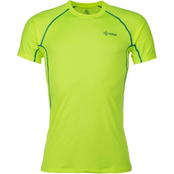 Pánské technické tričko KILPI RAINBOW-M žlutá (kolekce 2018)