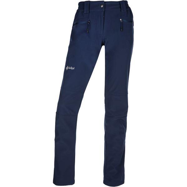 Dámské softshellové kalhoty KILPI MANILOU-W tmavě modrá