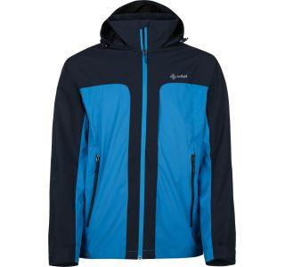 Pánská bunda KILPI ORTLER-M modrá (nadměrná velikost)