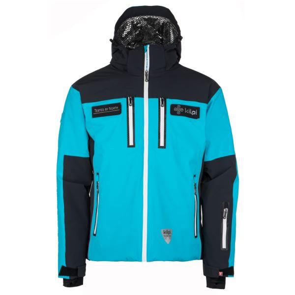 Pánská lyžařská bunda KILPI TEAM JACKET-M černá
