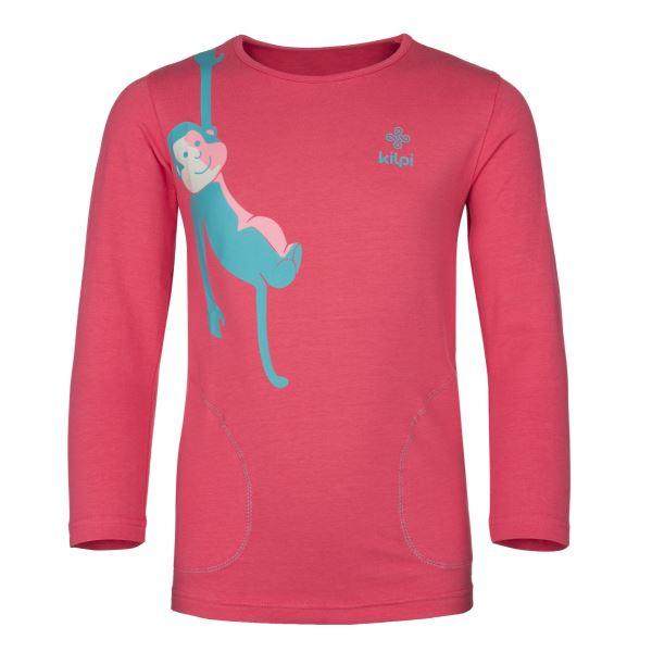 Dětské tričko KILPI SIMBA-JG růžová