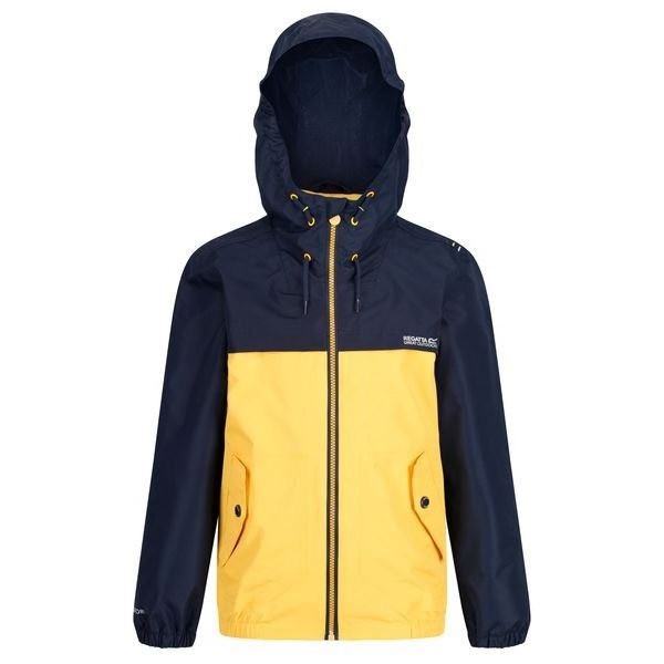Dětská bunda Regatta HUBBELL tmavě modrá/žlutá