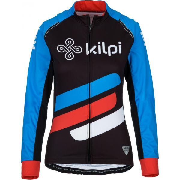Dámská cyklistická bunda KILPI PALM-W modrá