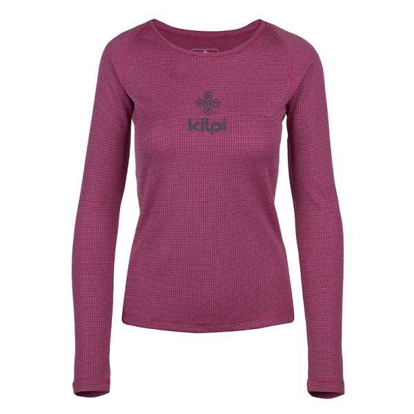 Dámské funkční tričko KILPI FLIN-W tmavě červená
