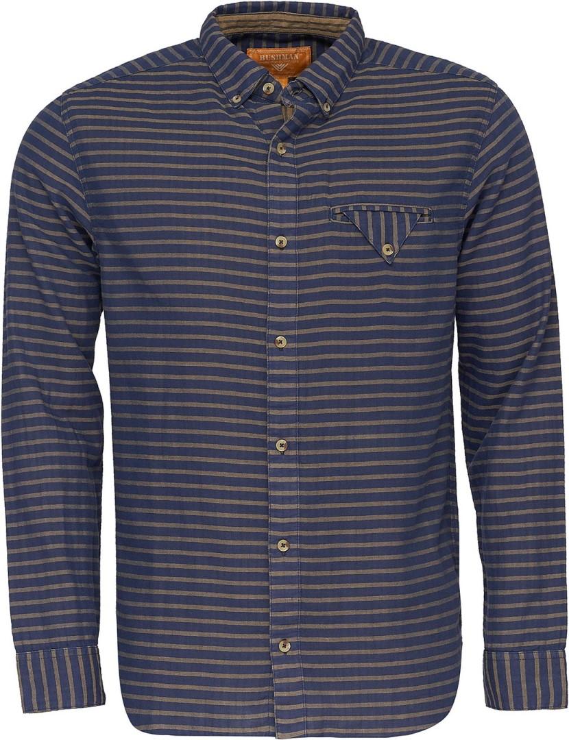 4f9bcb9f61a0 Pánská košile BUSHMAN REFUGIO tmavě modrá M