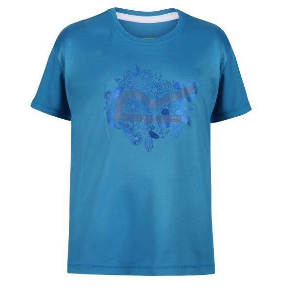 Dětské funkční tričko Regatta ALVARADO V modrá