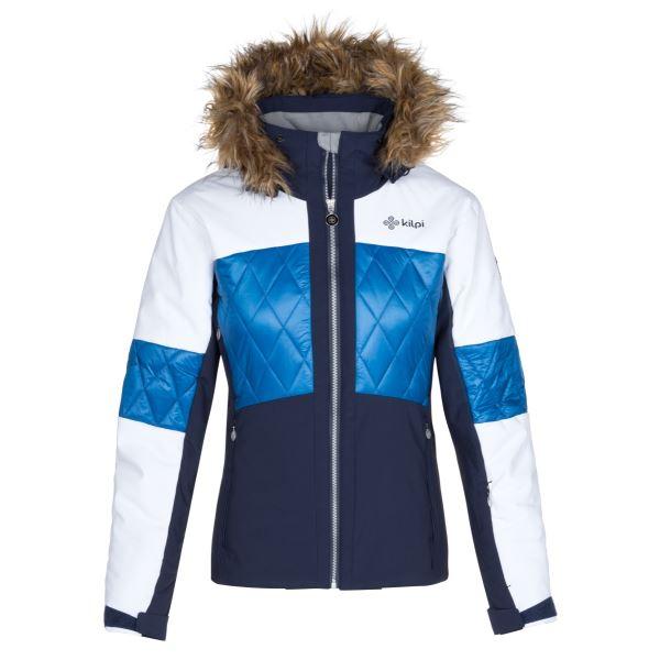 Dámská zimní lyžařská bunda KILPI ELZA-W tmavě modrá