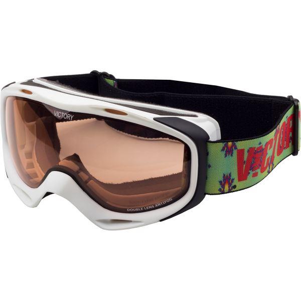 Unisex lyžařské brýle Victory SPV 614 bílá