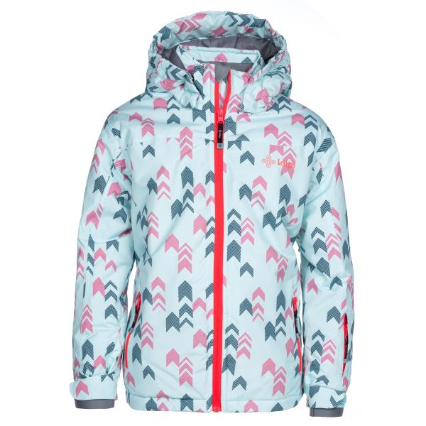 Dětská zimní lyžařská bunda KILPI JENOVA-JG růžová