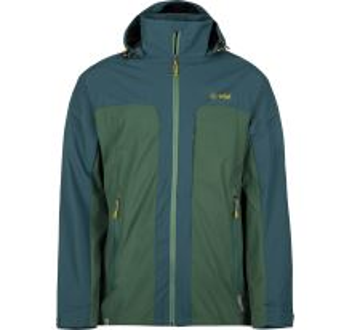 Pánská bunda KILPI ORTLER-M khaki (nadměrná velikost)