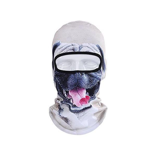 Unisex lyžařská kukla pes BB_B 07