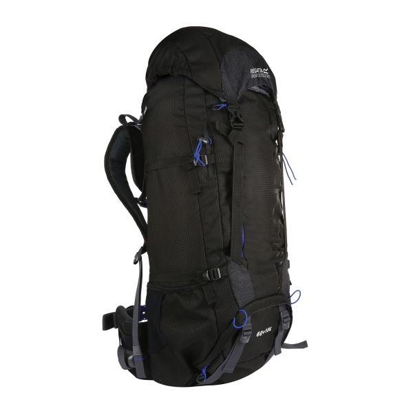Unisex batoh Regatta BLACKFELL III modrá/černá 60+10l