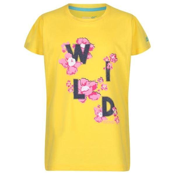 Dětské tričko Regatta BOSLEY II žlutá