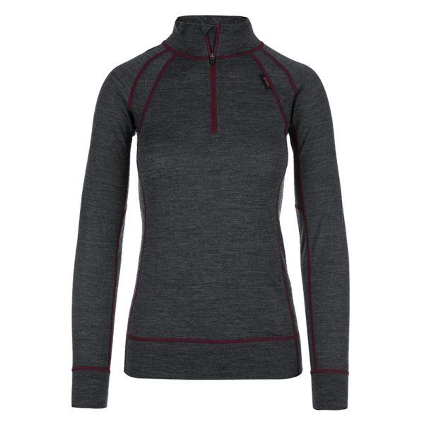 Dámské tričko KILPI JAGER-W tmavě šedá