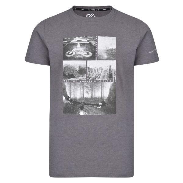 Dětské tričko Dare2b FRENZY šedá