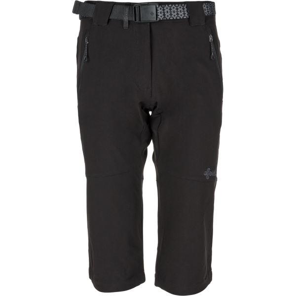 Dámské 3/4 kalhoty KILPI DALARNA-W černá