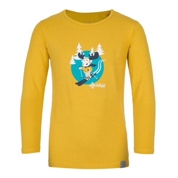 Dětské tričko KILPI LERO-J žlutá