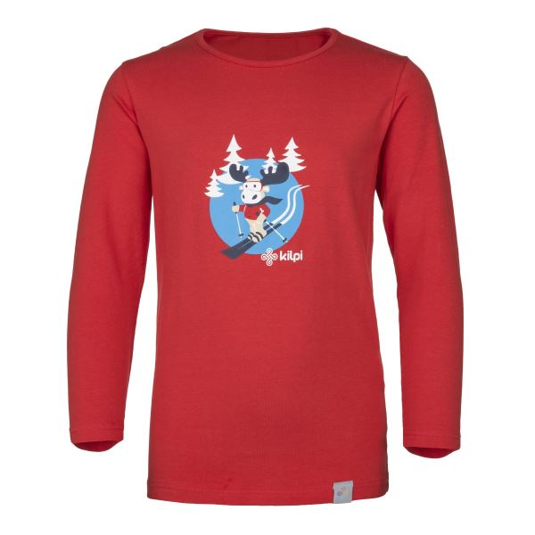 Dětské tričko KILPI LERO-J červená