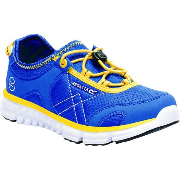 Dětské boty Regatta PLATIPUS II JNR modrá/žlutá