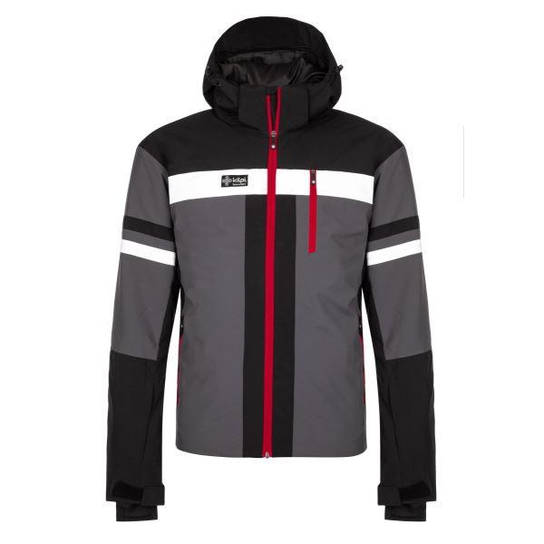 Pánská zimní lyžařská bunda KILPI PONTE-M tmavě šedá