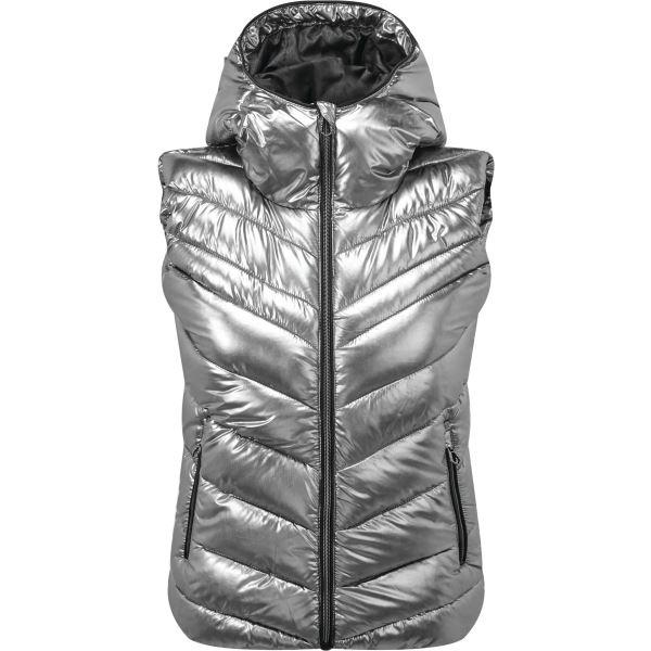 Dámská zimní vesta Dare2b COMPLICATE stříbrná
