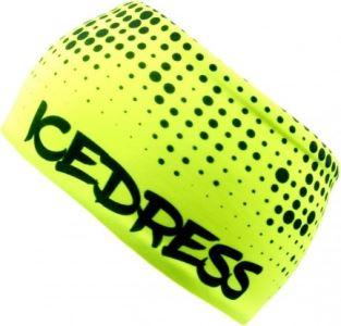 Univerzální funkční čelenka IceDress LIMITKA DOT II žlutá
