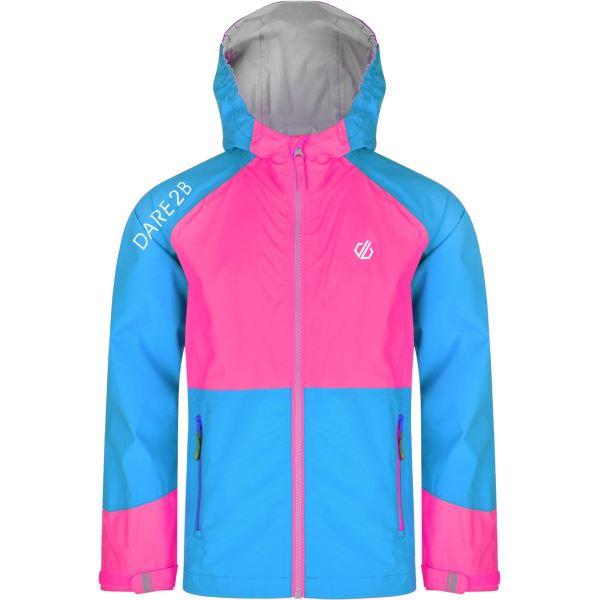 Dětská bunda Dare2b AFFILIATE růžová/modrá