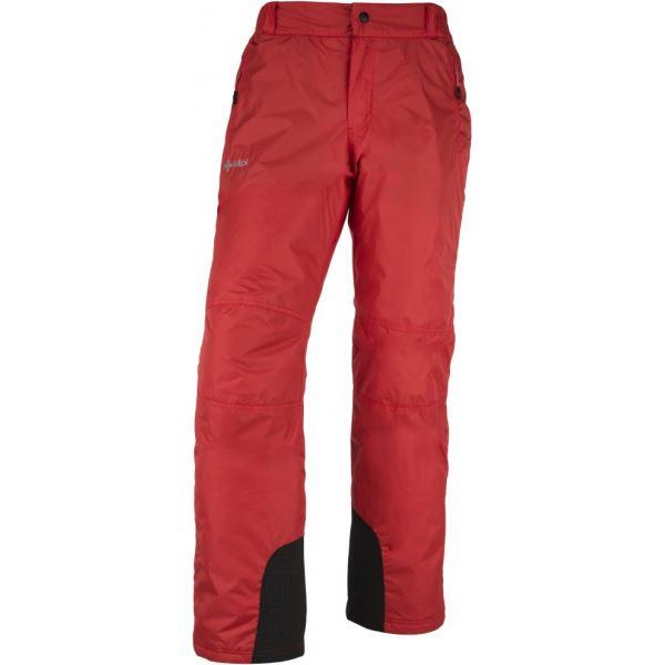 Pánské lyžařské kalhoty KILPI GABONE-M červená