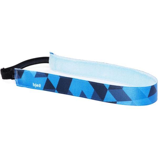 Sportovní stylová čelenka Bjež NEOGEO modrá