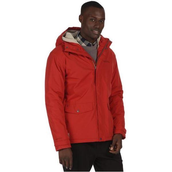 Pánská zimní bunda Regatta STERNWAY II červená