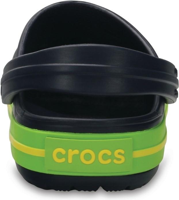 5354ad7d30f Dětské boty Crocs Kids  Crocband™ Clog tmavě modrá zelená