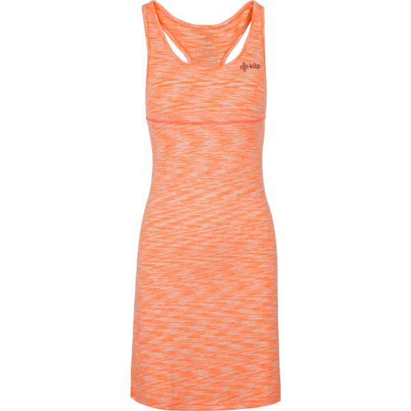 Dámské šaty KILPI SONORA-W oranžová