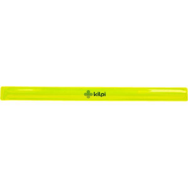 Unisex reflexní pásek na ruku KILPI REFLECTOR-U žlutá