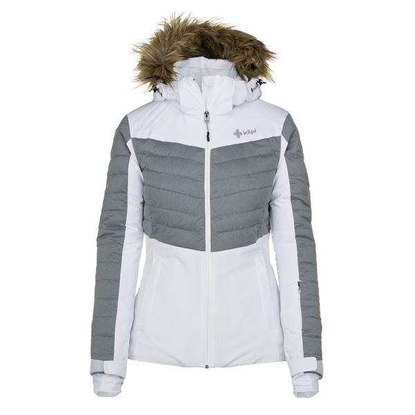 Dámská zimní lyžařská bunda KILPI BREDA-W bílá