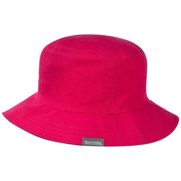 Dětský letní klobouk Regatta CRUZE růžová