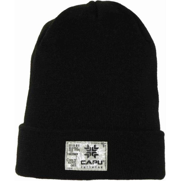 Pánská zimní čepice CAPU 1702 černá