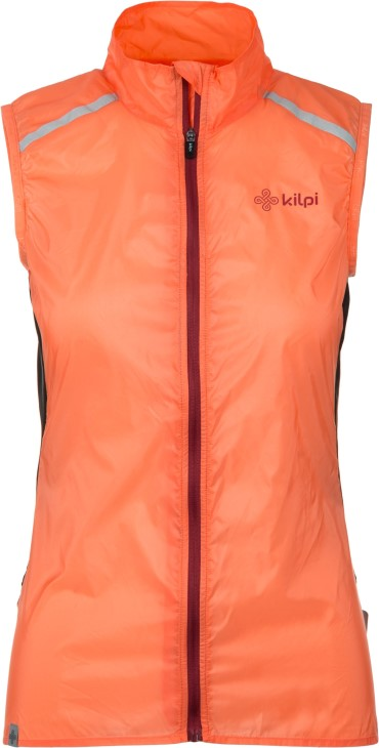 b081f24c8585 Dámská ultralehká vesta KILPI FLOW-W oranžová 40